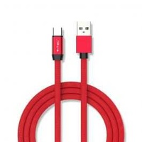 1m wire cable type c ruby red