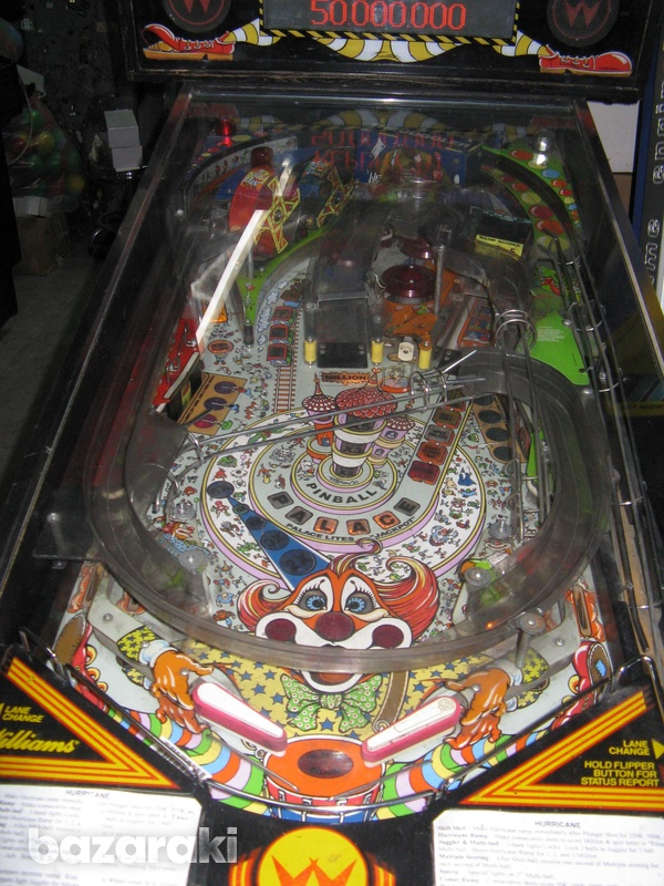 Williams hurricane pinball flipper machine-3
