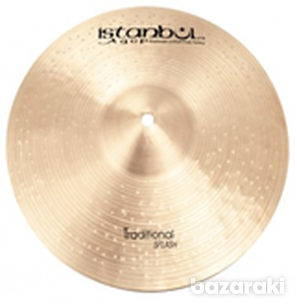 Splash cymbal 10 in istanbul agop traditional hand hammered pro new