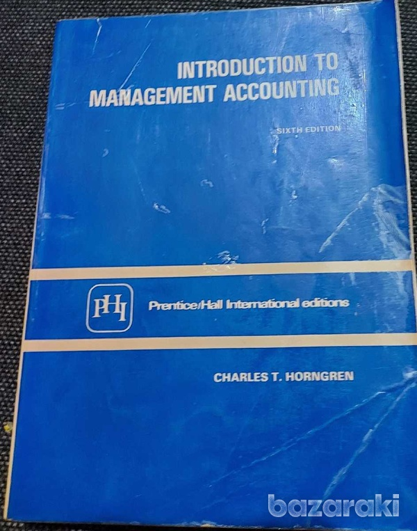 Collectors item. introduction to management accounting-1
