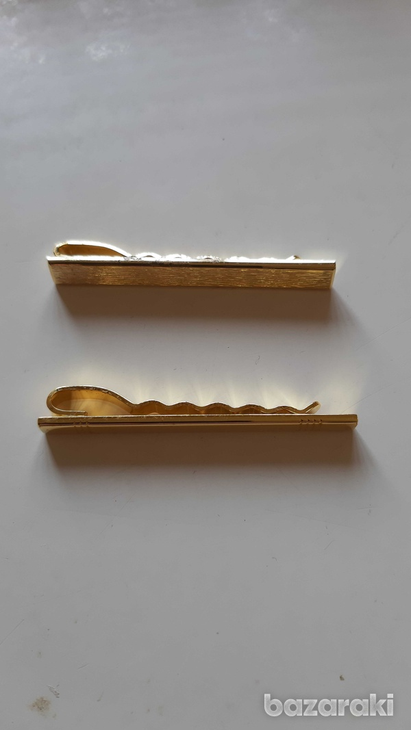 2 gold plated pins for ties-3
