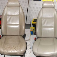Leather seat repair & color change
