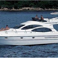 Yacht azimut 42 in agia napa for private charters
