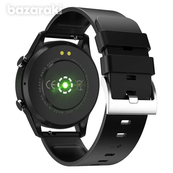 Fitness watch android ios make bluetooth call heart rate blood pressure-3