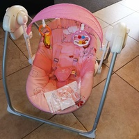 Bouncer + auto swing and music for baby / φορητη κουνια με μουσικη