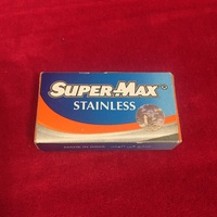 Super max stainless shaving blades