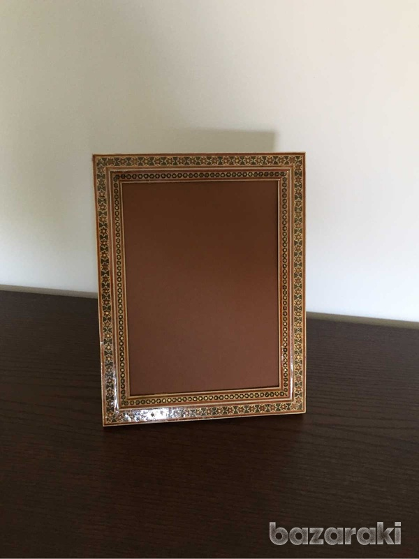 Handmade wooden picture frame-1