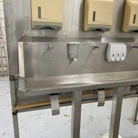 Stainless steel hand wash