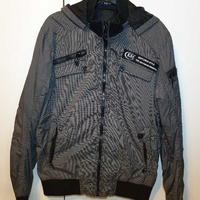 Men casual slim jacket l