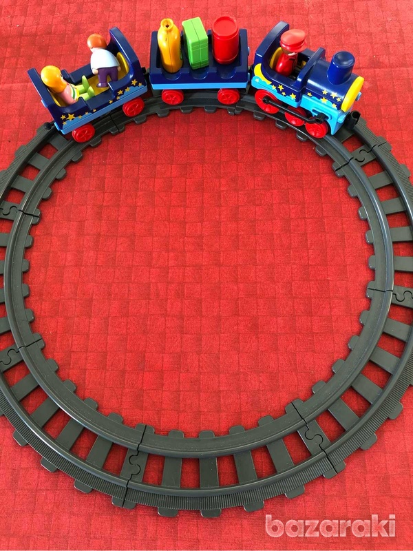 Train set by playmobil