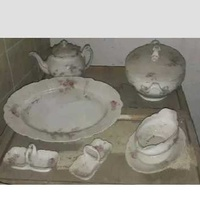 Vintage 6 set porcelain