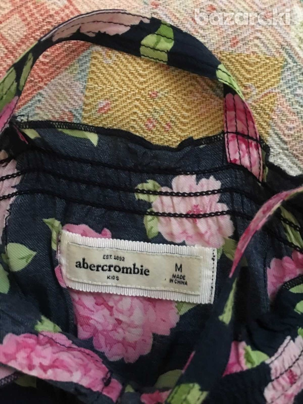 Abercrombie and fitch kids girls floral dress sz m-4