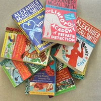 8 books from the famous series by alexander mccall smith