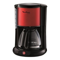 Moulinex fg360d subito filter coffee maker, 1000w, red