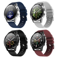 Fitness watch android ios make bluetooth call heart rate blood pressure