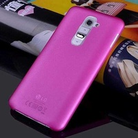 Silicon case for lg g2 ultra thin 03mm tpu soft back cover pink