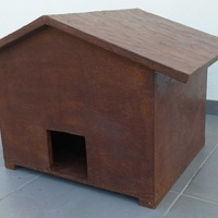 Wooden dog house - cat house