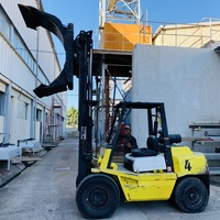 Toyota forklift 3.5 tons with clamps