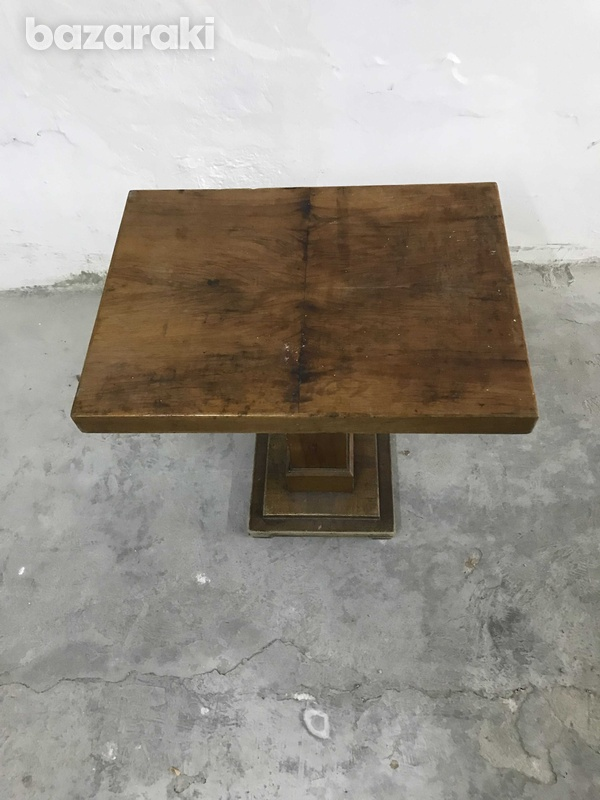 Wooden side table-2