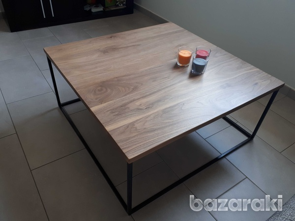 Black walnut coffee table-1