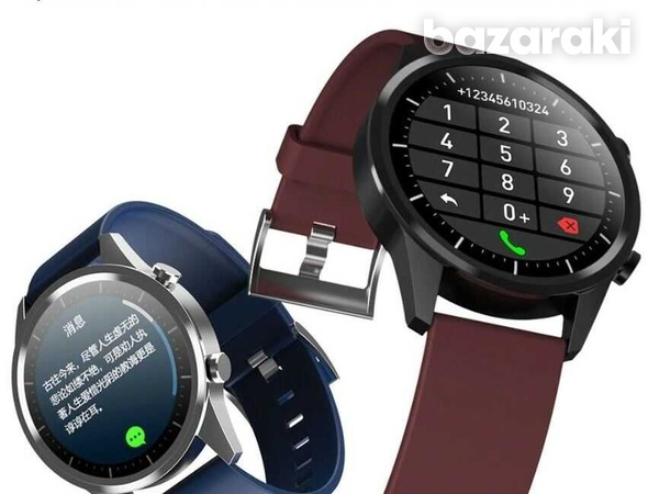 Fitness watch android ios make bluetooth call heart rate blood pressure-5