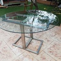 Stainless steel display table