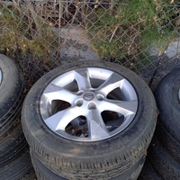 Wheels with tyres