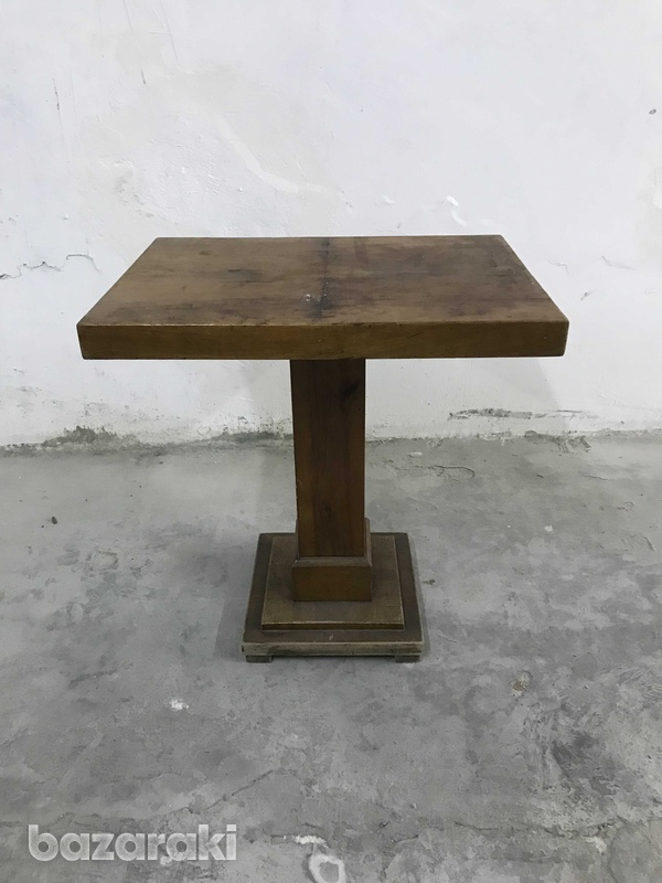 Wooden side table-1