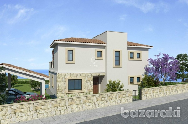 Three bedroom villa close to st george fishing harbour in peyia-2