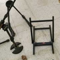 Amplifier stand & drumkick microphone stand