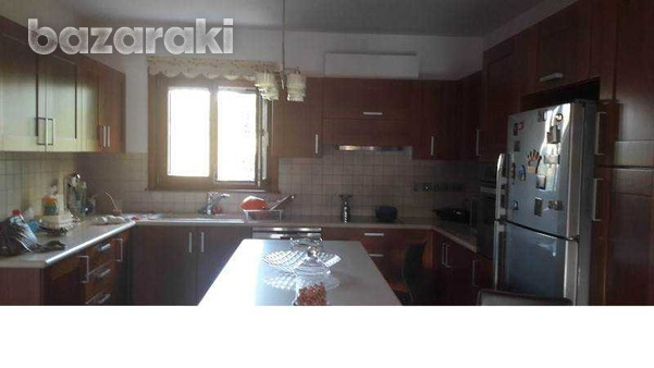 Detached house with big yard, green area, pool,furnished in pyrga-5
