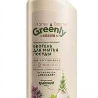 Home gnome greenly concentrated dishwashing bio gel, herbal mix