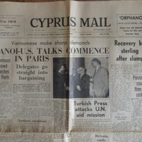 Cyprus mail newspaper 1968