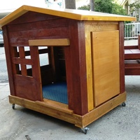 Our new creation of pallet dog house