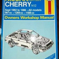 Haynes nissan/datsun cherry n12 owners workshop manual sept 82 86