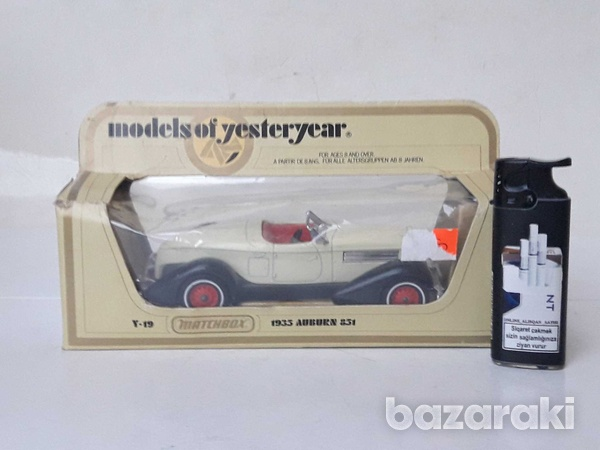 Collectible matchbox diecast car models of yesteryear y19 1935 auburn-3