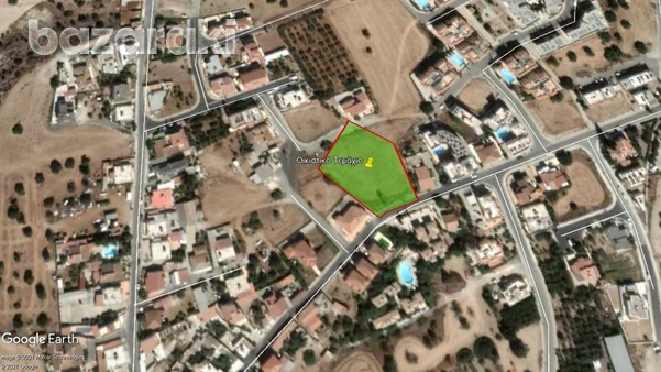 Residential land in mazotos village suitable for development with sea view-2
