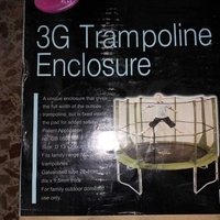 Trampoline enclosure 13 ft