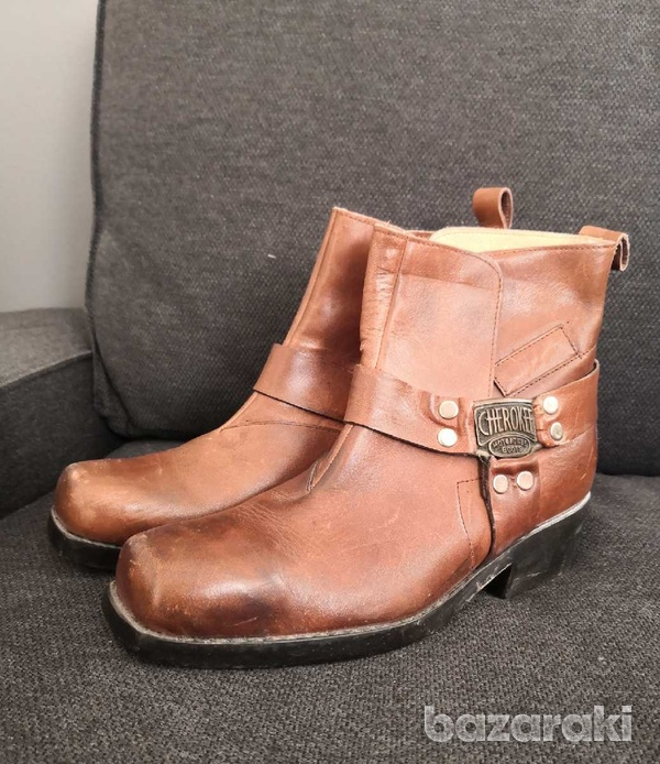 Cherokee motorcycle leather boots 40-3