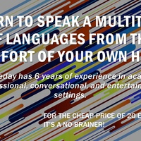 English/french/arabic language course for teaching & voice overs