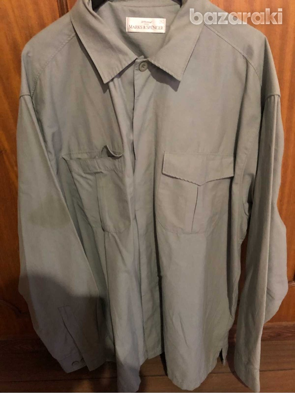 Mint green marks and spencer shirt-3