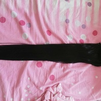Synthetic hair extensions