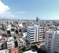 Limassol city center - office building near court / exchange with land