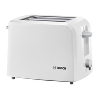 Bosch tat3a011 compact class toaster, white