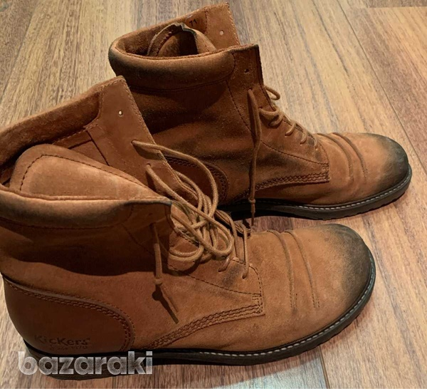 Kickers camel ankleboots, size 41-3