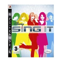 Sony playstation 3 - sing it game - ps3