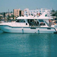 Yacht for 80pax in agia napa for private charters