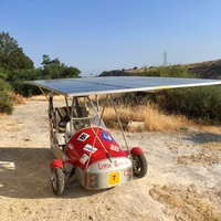 Personal solar vehicle