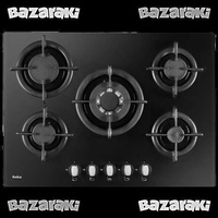 Amica - glass gas hobs-pgcz7411-5 burners -70 cm surface