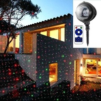 Coloured led projector light moving laser lamp indoor outdoor garden x